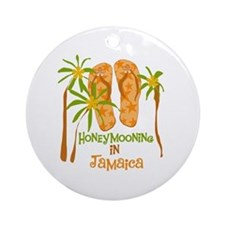 Honeymoon Jamaica Ornament (Round)