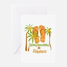 Honeymoon Jamaica Greeting Card