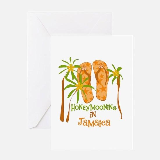 Honeymoon Jamaica Greeting Card