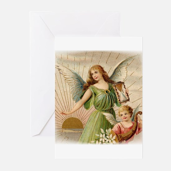 Victorian Angel Greeting Cards (Pk of 10)