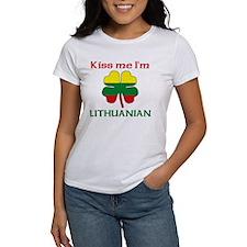Kiss Me I'm Lithuanian Tee