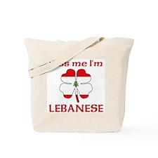 Kiss Me I'm Lebanese Tote Bag