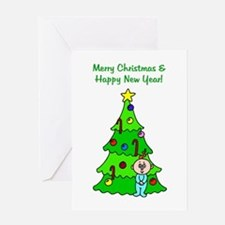 cm0009front Greeting Cards