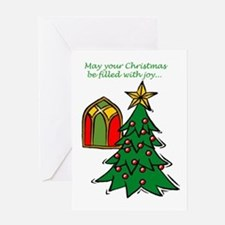 cm0007front Greeting Cards