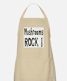 Mushrooms Rock ! BBQ Apron