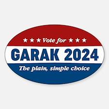 DS9 Vote Garak 2016 Decal