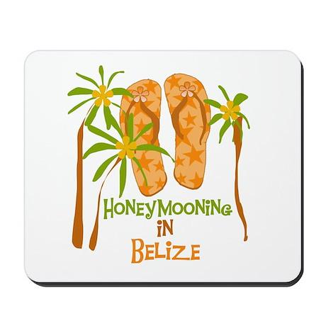 Honeymoon Belize Mousepad