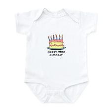 Happy 96th Birthday Infant Bodysuit