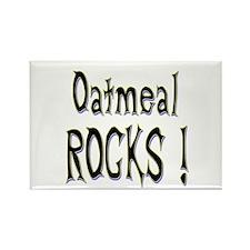 Oatmeal Rocks ! Rectangle Magnet