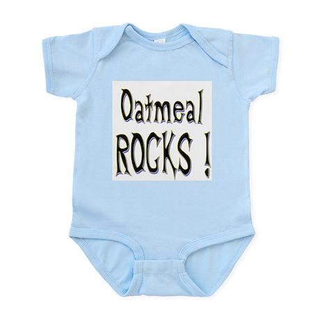 Oatmeal Rocks ! Infant Bodysuit