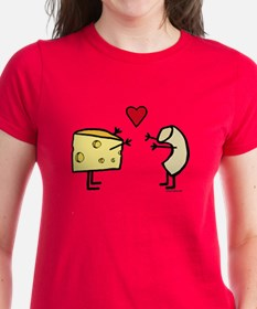 Macaroni And Cheese Love Women's Dark T-Shirt