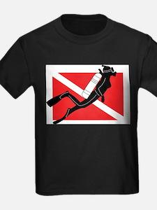 Girl SCUBA Diver T-Shirt