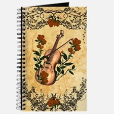 Wonderful violin with violin bow Journal