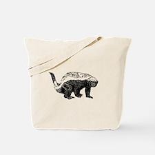 Honey Badger Poopin' Tote Bag