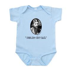 RASPUTIN Funny Fake Quote Infant Bodysuit