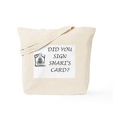 Shari's Card Tote Bag