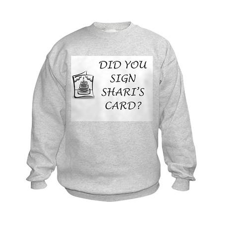 Shari's Card Kids Sweatshirt
