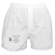 Shari's Card Boxer Shorts