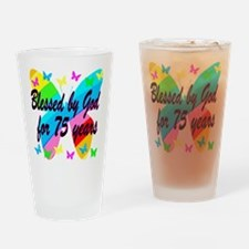 75TH PRAYER Drinking Glass