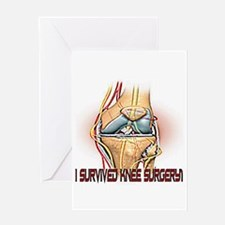 Knee Surgery Gift 4 Greeting Card