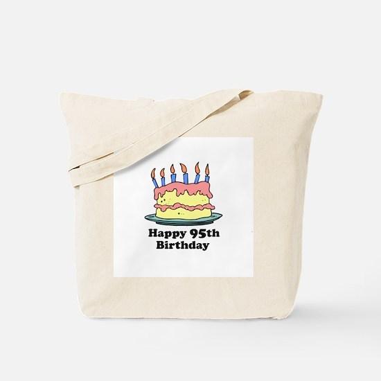 Happy 95th Birthday Tote Bag
