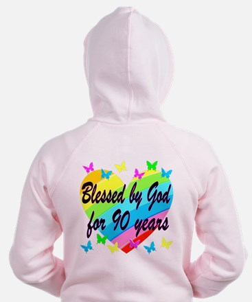 90TH PRAYER Zip Hoodie