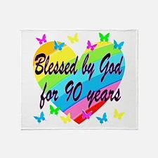 90TH PRAYER Throw Blanket