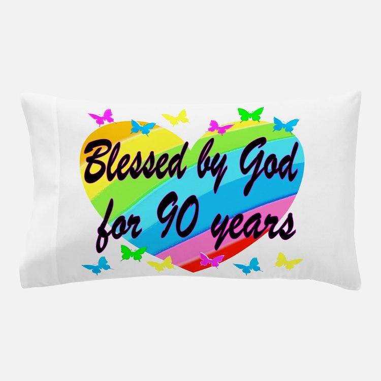 90TH PRAYER Pillow Case