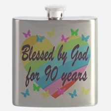90TH PRAYER Flask