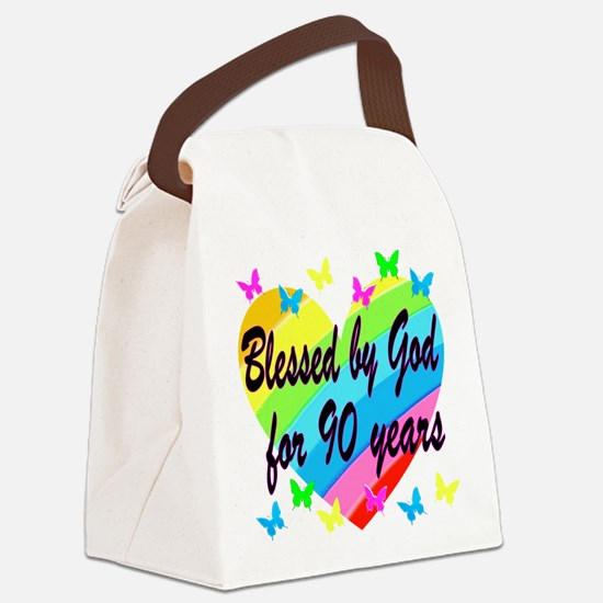 90TH PRAYER Canvas Lunch Bag