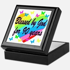 90TH PRAYER Keepsake Box