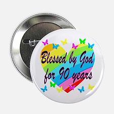 "90TH PRAYER 2.25"" Button"