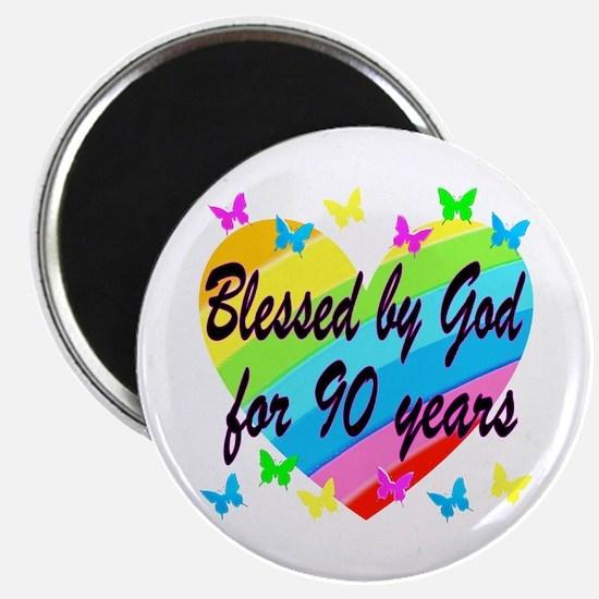 90TH PRAYER Magnet
