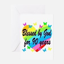90TH PRAYER Greeting Card