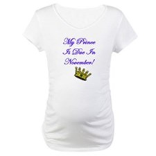 My Prince Is Due In November Shirt