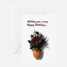 bd0007front Greeting Cards