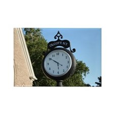 Olcott Village Clock Rectangle Magnet