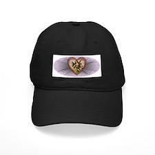 Victorian Angel Heart Baseball Hat