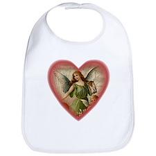 Victorian Angel Heart Bib