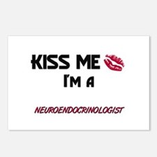 Kiss Me I'm a NEUROENDOCRINOLOGIST Postcards (Pack