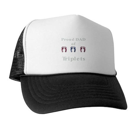 Proud Dad of Triplets Trucker Hat