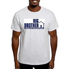 Morty's Logo on Ash T-Shirt