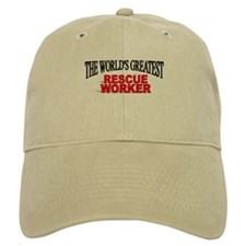 """The World's Greatest Rescue Worker"" Baseball Cap"