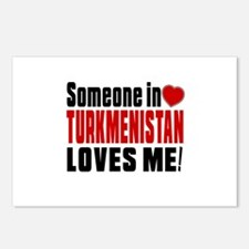 Someone In Turkmenistan L Postcards (Package of 8)