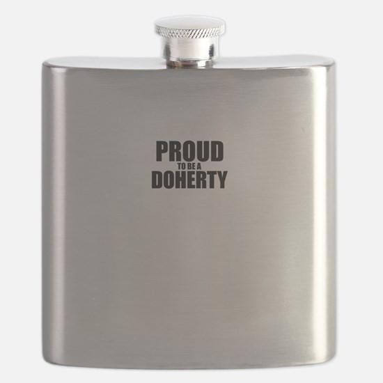 Proud to be DOHERTY Flask