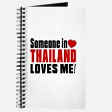 Someone In Thailand Loves Me Journal