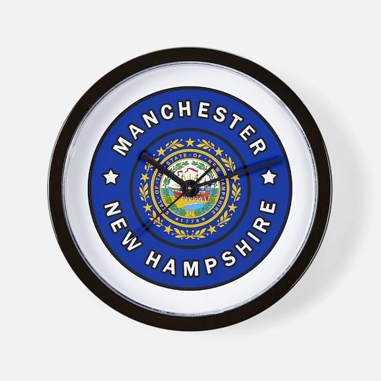 Cute Manchester new hampshire Wall Clock