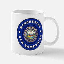 Manchester New Hampshire Mugs