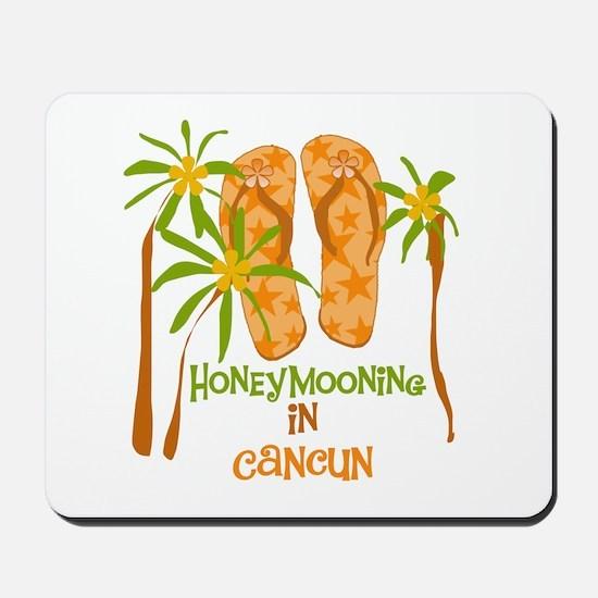 Honeymoon Cancun Mousepad