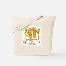 Honeymoon Cancun Tote Bag